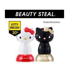 [TOSOWOONG] Hello Kitty 4D Vibratory Pore Brush