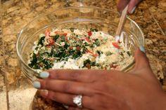 Design, Life, & Style: Skinny Spinach Dip With Greek Yogurt