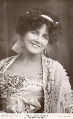A Jurubeba Cultural: ● Imagens... Vintage.    (Ellaine Terriss (1871-1971). Atriz inglesa).                ...