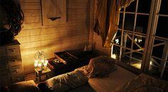 FOTOSTORY: Übernachtung im Gartenhaus