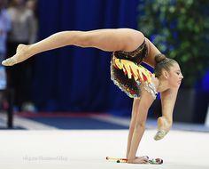 Aleksandra Soldatova (Russia) won silver in clubs finals at World Cup (Minsk) 2016