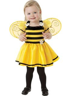 Baby Daisy Buzzy Bee Costume - Party City 12/24 mo.