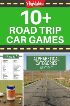Hitting the road this summer? Try these car games to keep your kids entertained and help boost their language, memory, and other learning skills while you're on the road.