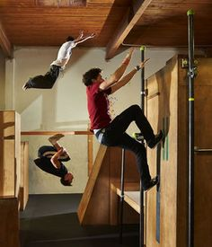 Parkour takes jungle-gym fitness to new heights. At Parkour Visions in Ballard, people of all ages and experience levels can learn the skills. This form of  fitness training is the art of forward movement, on or around obstacles .