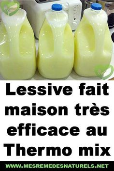 Lessive fait maison très efficace au Thermo mix Diy Cleaning Products, Cleaning Hacks, Home Organisation, Cleaning Business, Small Room Bedroom, Green Life, Homemade, Dressing, Couture