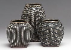 """""""My life changed the day I saw a fine black ash basket at an art show... My heart raced, my mouth dried and the world receded. There was only the basket."""" Sharon Dugan from her website www.sharondugan.com"""