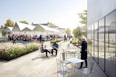 PLACE DE L'EGLISE-ILOT MERIADEC - Jacques Boucheton Architecte JBA Nantes