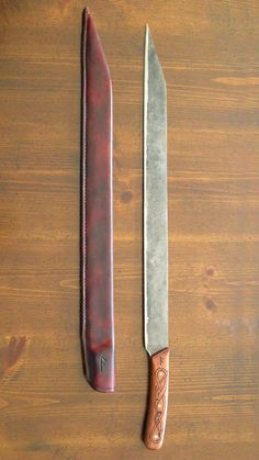 Ben Potter, hand forged swords, seaxs and knives.