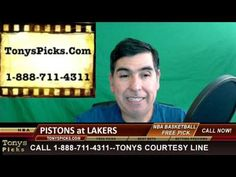 Detroit Pistons vs. LA Lakers Pick Prediction NBA Pro Basketball Odds Pr...