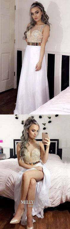2019 Prom Dresses Modest, White Formal Dresses Long, Sexy Military Ball Dresses Open Back, Gorgeous Pageant Graduation Party Dresses Chiffon Modest Formal Dresses, Tight Prom Dresses, Formal Dresses Online, Vintage Formal Dresses, Formal Dresses For Teens, Best Prom Dresses, Formal Dresses For Weddings, Cheap Prom Dresses, Formal Evening Dresses