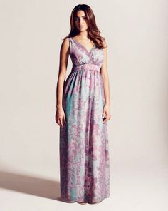 Project D London Queens Print Maxi Dress Length 58 inches