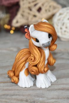 Polymer Clay Sculptures, Polymer Clay Animals, Cute Polymer Clay, Cute Clay, Polymer Clay Creations, Sculpture Clay, Polymer Clay Crafts, Diy Clay, How To Make Clay
