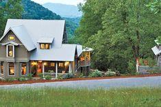 Sage House, Basement House Plans, Walkout Basement, Southern Living House Plans, Mountain House Plans, Mountain Homes, Basement Layout, Cottage Plan, Cottage House
