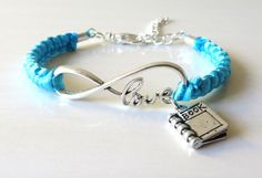 LOVE Books Librarian Reading Teacher by JewelryDesigned4You