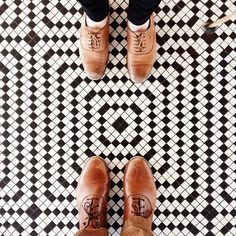 "This anonymous Instagram profile, aptly named ""I Have This Thing With Floors,"" accepts submissions of photos (and/or photos its own) of the most interesting, creative, vivid, and ornate floors in the world - as long as they've got feet standing on them."