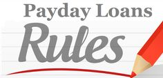 Main Rules Of Using Payday Loans In Emergency Situation!