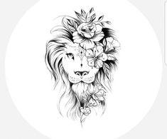 Trendy cool tattoo for women mom ideas Leo Lion Tattoos, Love Symbol Tattoos, Body Art Tattoos, Sleeve Tattoos, Cute Foot Tattoos, Mandala Hip Tattoo, Mandala Tattoo Design, Lion Tattoo Design, Side Hip Tattoos