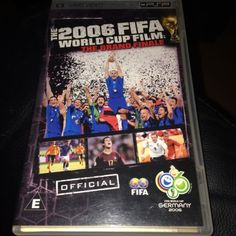 The fifa 2006 #world cup film sony psp umd #official fifa film the grand #finale,  View more on the LINK: http://www.zeppy.io/product/gb/2/121667544586/