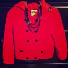 "Selling this ""FINAL SALE 95% off only $19! Ochirly red jacket"" in my Poshmark closet! My username is: messerac. #shopmycloset #poshmark #fashion #shopping #style #forsale #Ochirly #Jackets & Blazers"