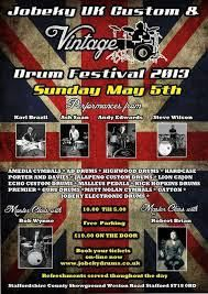 Jobeky UK Custom & Vintage Drum Festival 2013