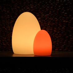 EGG The EGG wireless lamp is waterproof and shockproof making this an ideal lamp for outdoor or pool use. The dedicated remote control allows you to adjust the colours and brightness levels to suit your mood. Available in 3 sizes.  Shop Now www.cordlesslightingstore.com