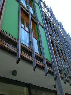 """Quartiere """"Le Albere"""" a Trento_negozi, uffici e residenza - Renzo Piano Building Workshop  http://lealbere.it/"""