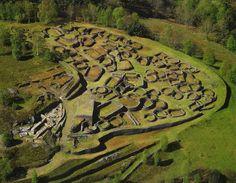 Castro de Coaña. Ancient settlement dated around the 1st century A.C. Asturias, North Spain  Photo by Nardo Villaboy