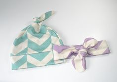 Organic Baby Girl Headband Organic Cotton by TheLinebyAleMulcahy