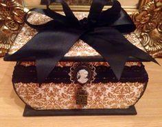 Large Bespoke Victorian Delights Boutique Trinket Box £22.00