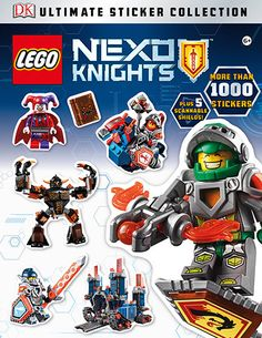Jump into a futuristic knights' realm with action-packed scenes and more than stickers from this brand new LEGO theme. Meet a group of brave knights as they embark on an epic adventure to stop a Magical Monster, Dk Books, Dk Publishing, Lego Knights, Buy Lego, Futuristic, Fun Facts, Stickers, Adventure