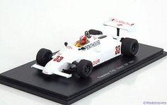 1:43 Spark Theodore TY01 GP Netherland Surer 1981 Penthouse