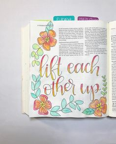Bible Journaling by @nickicreates
