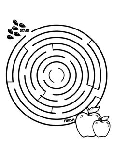 March Lion and Lamb Maze : Printables for Kids