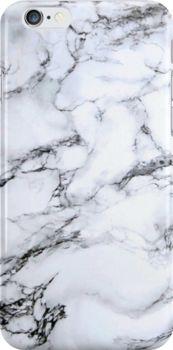 black and white marble iPhone 6 Snap by Skye Kalara