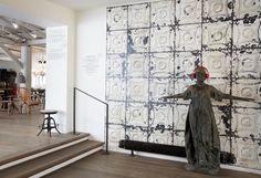 Tin Wallpaper: Brooklyn Tins -TIN 01 by Merci | Removable Wallpaper Australia