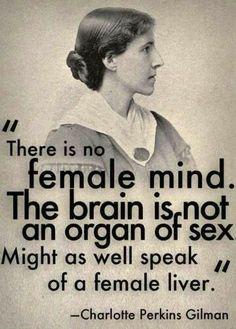 Charlotte Perkins Gilman - 1860-1935 - Ecrivaine, sociologue, poète et féministe américaine.