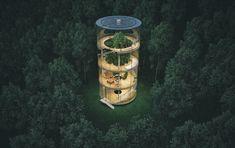 Архитектор переосмыслил домик на дереве и представил его в стиле хай-тек. Новости - Мировые новости. Metro