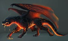 Dragon-commission by Ioana-Muresan.deviantart.com on @DeviantArt