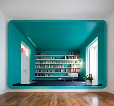 Colourful Torres Vedras House by Pedro Gadanho - http://www.dailyweddingideas.com/home-decor/colourful-torres-vedras-house-by-pedro-gadanho.html