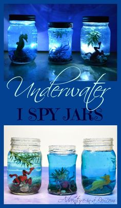 Underwater I Spy Jar