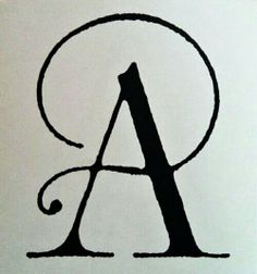 A, lettering, typography Types Of Lettering, Lettering Design, Hand Lettering, Calligraphy Letters, Typography Letters, Typographie Inspiration, Graffiti, Letters And Numbers, Monogram Letters