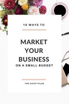 Promoting your own shop doesn't have to feel time consuming, costly, or icky. Today we're talking about how to market your retail business on a small budget and
