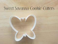 Butterfly Custom Cookie Cutters by SweetSavannaCookies on Etsy
