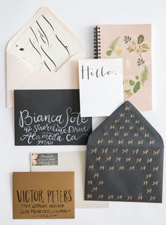sweet stationery