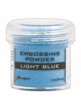 The Good Craft Shop: Light Blue Embossing Powder