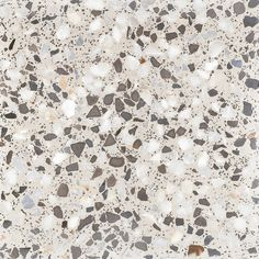 FS Ofelia by Peronda Porcelain wall and floor tile with a classic terrazzo style pattern on a white background. Available in 45.2x45.2cm format and matt finish. www.peronda.com