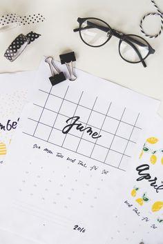 Download planners e calendários 2016 para baixar (grátis) - via omundodejess.com