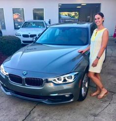 Congratulations to Ms. Jamie McCarthy on the purchase of this 2016 BMW 328i! We wish you a beautiful ownership experience! #bmwfwb #drivenbyservice