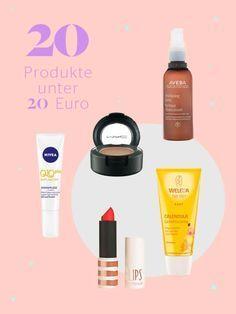 Gute Kosmetik muss nicht teuer sein. Wir zeigen dir unsere Favoriten, die man sich auch mal im Vorbeigehen leisten kann