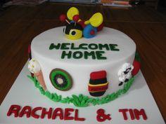 Kiwiana Cake - New Zealand themed cake. Homemade By Hollie. Birthday Ideas, Birthday Cake, Birthday Parties, New Zealand Food, Cake Decorating, Decorating Ideas, Party Themes, Party Ideas, Kiwiana
